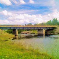 Мост через реку Софьянгу в п. Софпорог, Софпорог