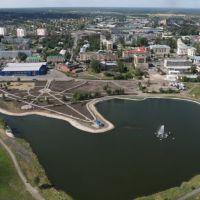 С вертолета, Анжеро-Судженск