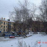 Ленина 28 двор, Анжеро-Судженск