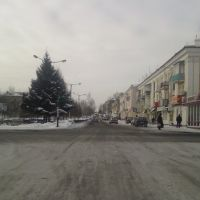 ул.Юбилейная снято январь 2008, Белово