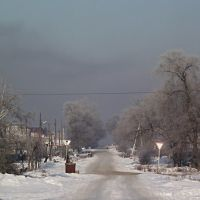 дымовая завеса г.Белово, вид с ул.Коммунистическая, Белово