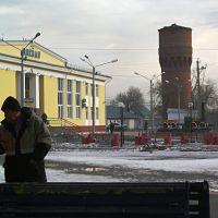 Белово - ж-д, кирпичная водонапорная башня, Белово