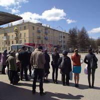 111-ый автобус подруливает, Белово