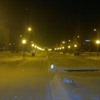 Аллея к вокзалу, Белово