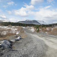 Дорога на рудник, Белогорск