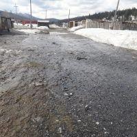 Ручьи на дороге, Белогорск