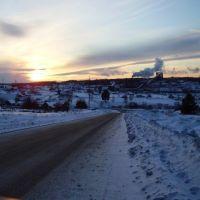 зимой, Березовский