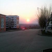 Берёзовский на закате, Березовский