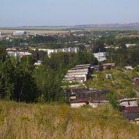 [авг13 ф-62] Гурьевск, разрез Шестаки на горизонте, Гурьевск