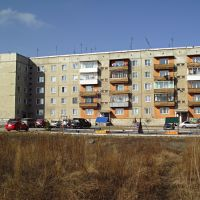 Гурьевск 061 Чапаева, 8 (утром с восточной стороны), Гурьевск