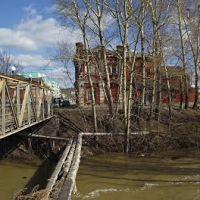 краеведческий музей г. Гурьевск, мост к заводу через р.Малый Бачат, Гурьевск