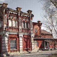 купеческий дом Ермолаева (краеведческий музей с привидениями) г.Гурьевск, Гурьевск