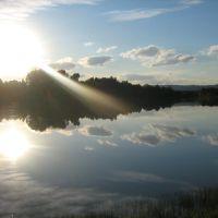 река Кондома, Калтан