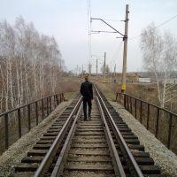 Вид с моста, Кедровка