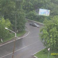 Ливень (вид с крыши 2007), Кедровка