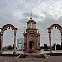 Часовня за администрацией КО, Кемерово