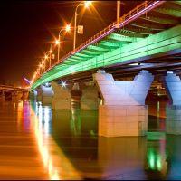 """Кузнецкий мост - """"подсветка выходного дня"""", Кемерово"""