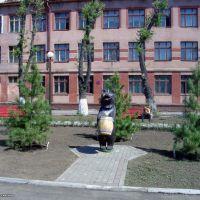 2002-05-22 Кемерово вид на Школу 84, Кемерово