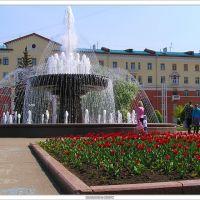 2005-05-28 Кемерово фонтан возле Театра Драмы, Кемерово