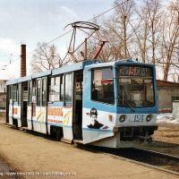 KTM-8M 154 in der Wendeschleife KEMZ, Кемерово