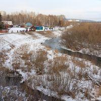 река Искитимка; 19.11.2011, Кемерово