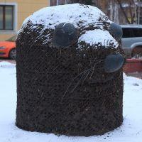 ул.Дзержинского,2: фигура крота или тюленя; 19.11.2011, Кемерово