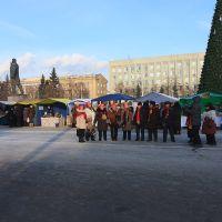пр.Советский: ярмарка: песни-танцы; 25.11.2011, Кемерово