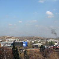 Вид на центр города с Гончарской горы, Киселевск