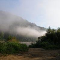Тишиной встречает нас река), Крапивинский
