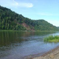 речка Томь, Крапивинский