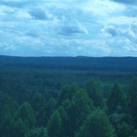 Вид с горы, Крапивинский