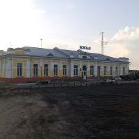 Вокзал, Ленинск-Кузнецкий