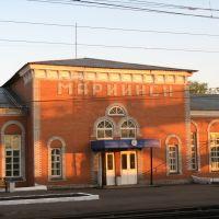 вокзал, Мариинск
