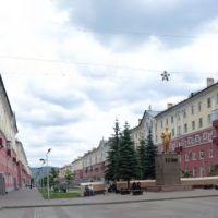 г. Междуреченск панорама пр.Коммунистический, Междуреченск