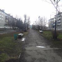 Аллея по ул. Юности, Междуреченск