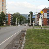 Улица Советская, Мыски