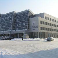 Новокузнецк. Бизнес-центр Сити (-30°С), Новокузнецк
