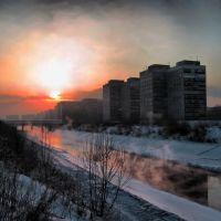 Novokuznetsk / Новокузнецк Река Аба, Новокузнецк