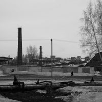 zone industrial, Осинники