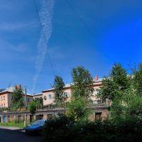 Прокопьевск, дворы на ул. Селиванова 4, Прокопьевск