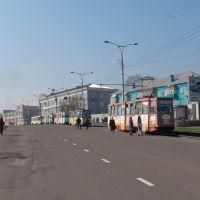 Трамваи на пр. Шахтёров, май 2011, Прокопьевск