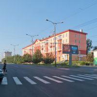Пешеходный переход на пр. Шахтёров, июль 2011, Прокопьевск
