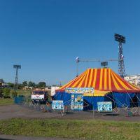 Цирк приехал, июнь 2013, Прокопьевск