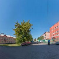 Ул. Рудничная, июнь 2013, Прокопьевск