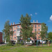 Ул. Кирпичная 2-я, дома 7а и 7, июнь 2013, Прокопьевск