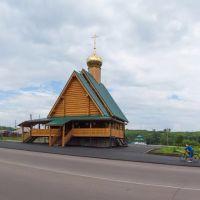 Храм святого праведного Прокопия Устюжского (1), июль 2013, Прокопьевск