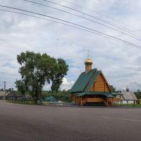 Храм святого праведного Прокопия Устюжского (2), июль 2013, Прокопьевск