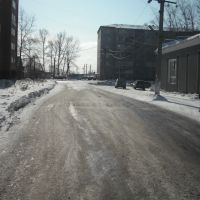 Улица Чкалова (вид на юг), Тайга