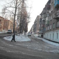 Улица Лермонтова - вид на юг, Тайга