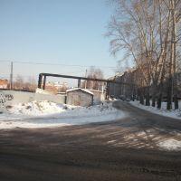 Улица Щетинкина - вид на восток, Тайга